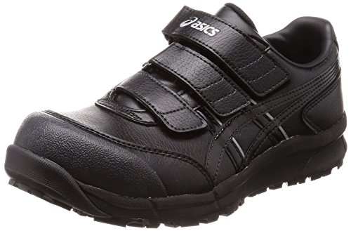 [アシックス] ワーキング 安全靴/作業靴 ウィンジョブ CP301 JSAA A種先芯 耐滑ソール αGEL搭載 ブラック/ブラック 30.0