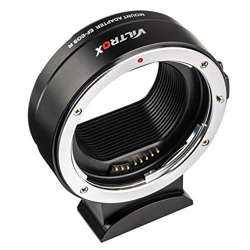 Conversor adaptador de lente para foco automático EOS R da VILTROX EF-EOS compatível com lentes Canon EF para câmera EOS R e EOS RP
