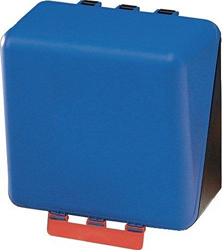 Box aus ABS-Ku. blau, 236x225x125mm GEBRA neutral m.Gebotszeichen