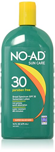 No-ad Broad Spectrum SPF 30 Sun care Lotion, Paraben Free, Super Value...