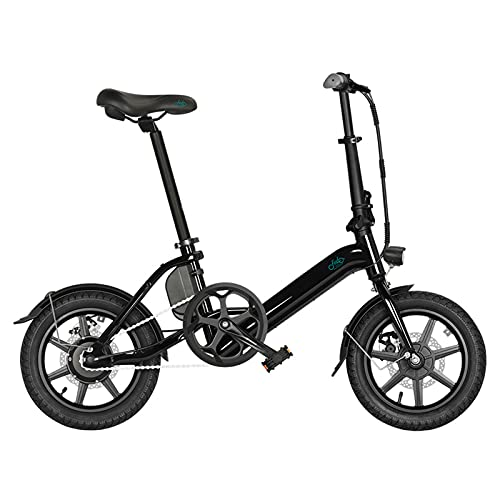 FIIDO D3 PRO Bicicleta eléctrica, plegable de aleación de aluminio ligero portátil...