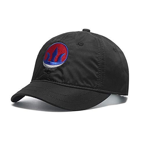 wtnhz Gorra de béisbol Verano de Secado rápido Sombrero Ecuestre de ala Corta Pareja Sombrero para el Sol Moda