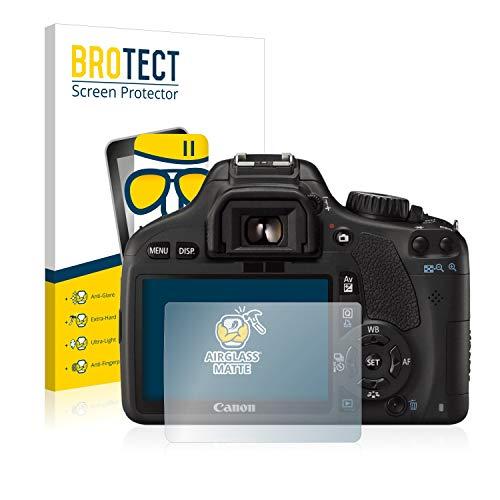 brotect Pellicola Vetro Opaca Compatibile con Canon EOS 550D Protezione Schermo Anti-Riflesso Durezza 9H, AirGlass