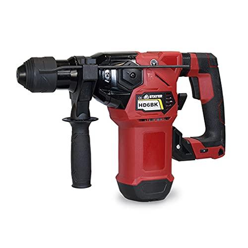 Stayer 1.1050 MARTILLO ROTATIVO SDS PLUS HD6BK, 1500 W, Rojo Negro, 0