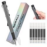 REMALL Fidget Pen Stylo à Bille Anti-Stress Stylos à Bille Non Rétractable ADHD Fidget Pencil Fidget Toys Stylo pour l'anxiét 10 Recharges pour stylos Besoins spéciaux Stress Reliever 1Pack