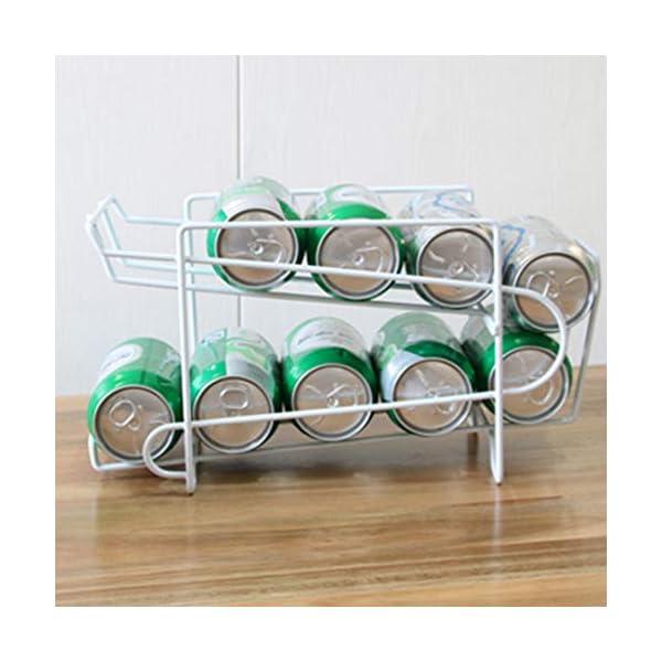 Topxingch – Dispensador de latas de almacenamiento inclinado de 2