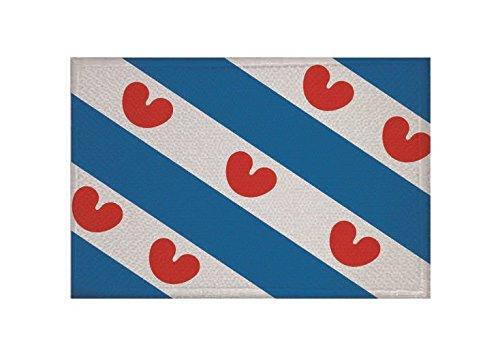 U24 Aufnäher Friesland (Niederlande) Fahne Flagge Aufbügler Patch 9 x 6 cm