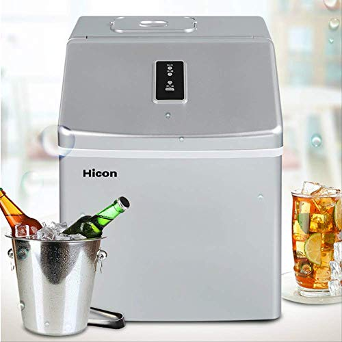 Best Buy! 24-grids Ice Maker Machine Commercial Small Milk Tea Bar Cafe Ice Machine Household Fast I...