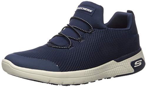 Skechers Marsing-waiola - Zapato profesional para mujer, Azul (Marino), 35 EU