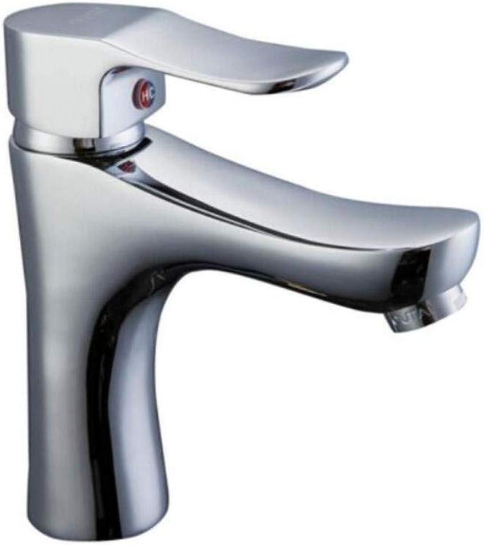 Chrome Kitchen Sink Taptaps Mixer Swivel Faucet Sink Washbasin Single-Hole Washbasin Copper Cool-Hot Sitting Type Washbasin Sanitary Bathroom Faucet