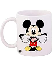 cup of the Disney character Mickey Mouse