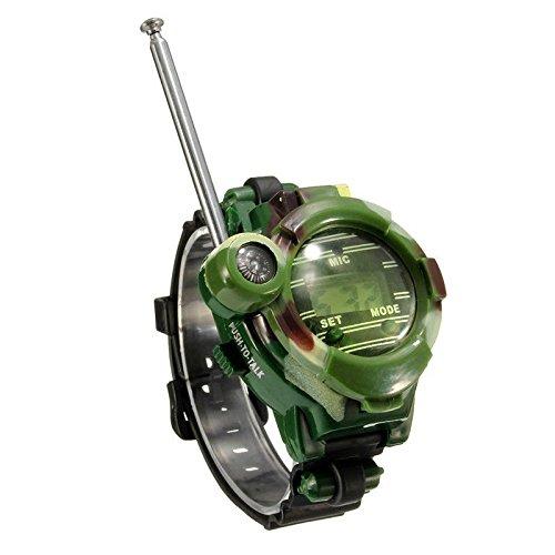 CZXC Orologio da Polso per Bambini in plastica con Microfono per walkie-Talkie, Radio, Bussola per Giochi familiari