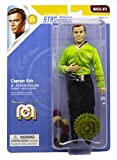 "Mego Action Figures, 8"" Star Trek - Capt. Kirk in Green Shirt with Tribbles from The The Original Series Episode The Trouble with Tribbles (Limited Edition Collector's Item)"