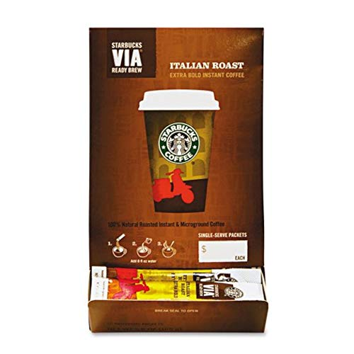Starbucks VIA Ready Brew Italian Roast Coffee (50 count)
