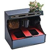 Zapato Pulidor eléctrico, eliminación de polvo automático de tratamiento de inducción del zapato Zapatos de pulido de la máquina de limpieza Cepillo de limpieza kit adecuado for el hogar o de uso públ