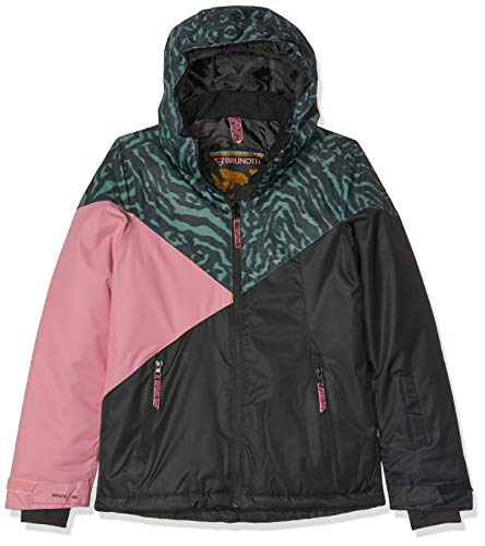 Brunotti Mädchen Sheerwater JR Girls Snowjacket Jacke, Black, 140.0