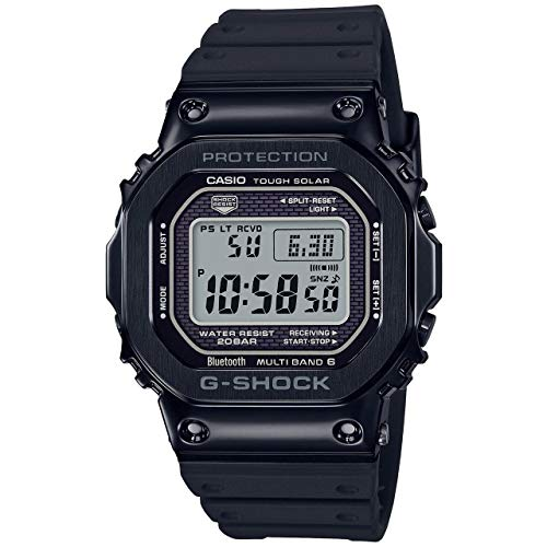 Casio G-Shock GMWB5000G-1 - Reloj digital para hombre, color negro