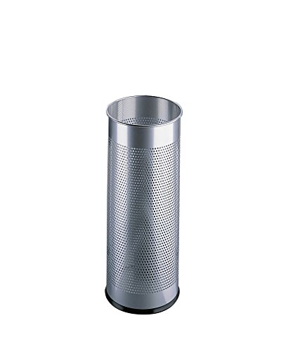 Durable 335023 Schirmständer aus Metall, 28,5 Liter, silber