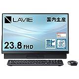 NEC 液晶一体型 デスクトップパソコン LAVIE Direct DA(S) 国内生産 (23.8インチ FHD/Core i7/16GB メモリ/256GB SSD+1TB HDD/地デジ/ブラック)(Office Home & Business 2019・1年保証)(Windows 10 Home) WEB限定モデル【Windows 11 無料アップグレード対応】