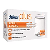 Diaper Dekor Plus Twin Pack Refill - 4 Refills by Diaper Dekor