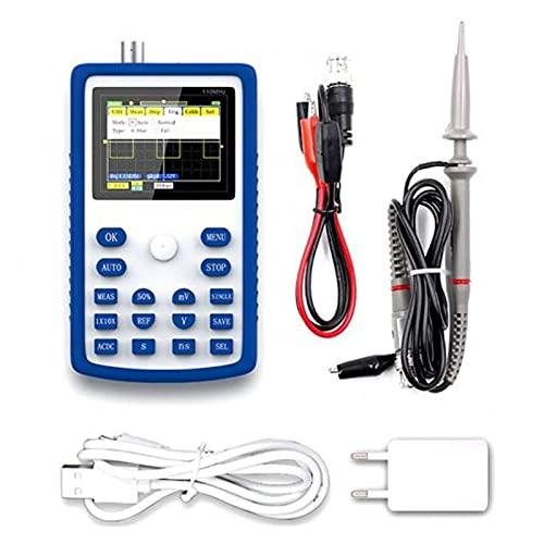 Probe Power 55% caliente 1C15 + Osciloscopio digital profesional 50 0MS / S 110M Ancho de banda analógico Herramienta de prueba de diagnóstico Medidor de voltio digital AC/DC (Color : Blue)