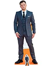 Star Cutouts Ltd Lifesize-Cartulina Recortada con Mini Corte de Taron Egerton, cartón, Multicolor, 178 x 67 x 178 cm, 2