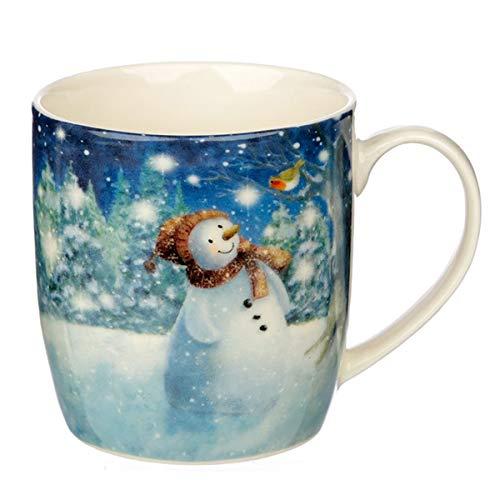 Jan Pashley Christmas Snowman Mug