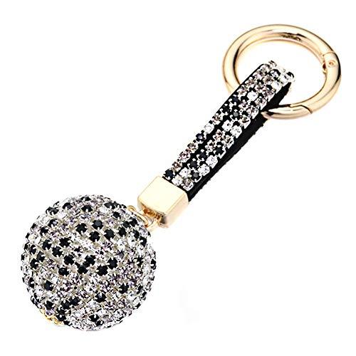 Surakey Llaveros de Diamantes de Imitación, Llavero de Diamantes de Coche, Llavero de Cristal Brillante para Mujer, Organizador de Llaves, Bolso, Colgante