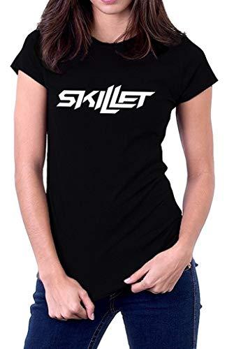 Skillet Band Logo Comatose Awake Alternative Women's Fashion Tops T-Shirt