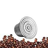 KAKAF Adaptador de cápsulas de café Cápsulas de café Soporte convertidor de acero inoxidable para Espresso Línea Original Cápsula Compatible con Nespresso Vertuo ENV135 GCA1 Machine