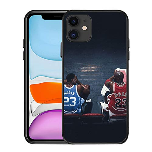 VBSD Funda para iPhone 12/12 Pro Max de 6,1 pulgadas, diseño de jugador de baloncesto Laker James, funda de silicona suave ultrafina, compatible con iPhone 12/12 Pro James 6-iPhone 12 Pro