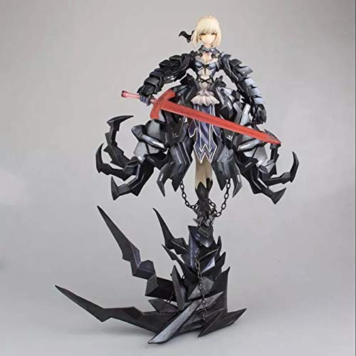 Bosi General Merchandise Fate/Stay Night, Schwarzer Säbel, bewegliches Modell, PVC, Sammlermodell, Spielzeuggeschenk