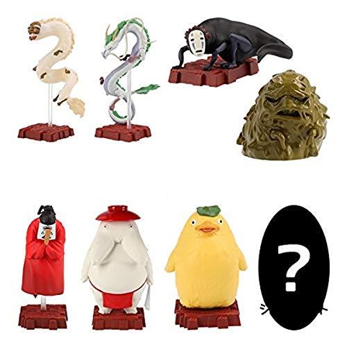 千と千尋の神隠し ポーズがいっぱいコレクションDX神様いっぱい 全8種セット