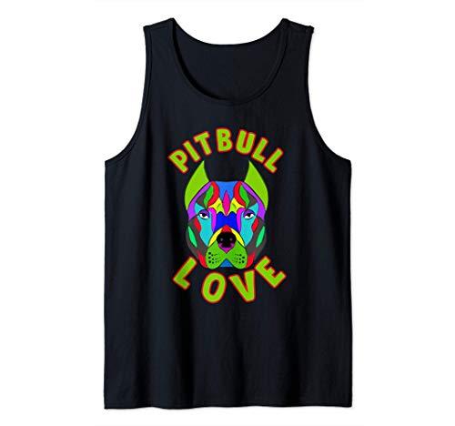 Amante De Los Perros De Mascota American Pitbull Terrier Camiseta sin Mangas