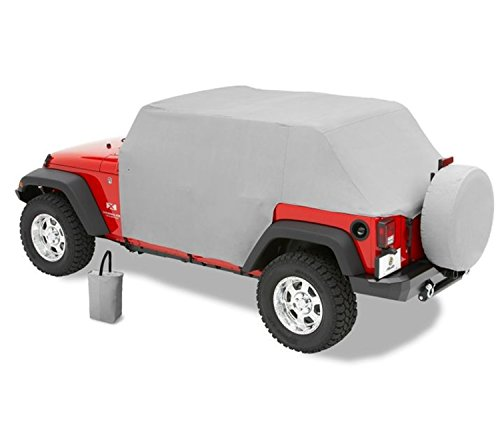 Bestop 8104109 Charcoal All Weather Trail Cover for 2007-2018 Wrangler Unlimited