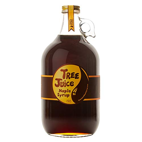 Tree Juice Maple Syrup (Pure Maple Syrup, 64 ounces)