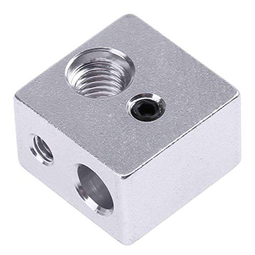 Inception Pro Infinite - Heating block - 3D printer - Makerbot - Flashforge for nozzles - m3 and m6 - Rep Rap - mounting block - nozzle extruder heating cartridge - spare parts