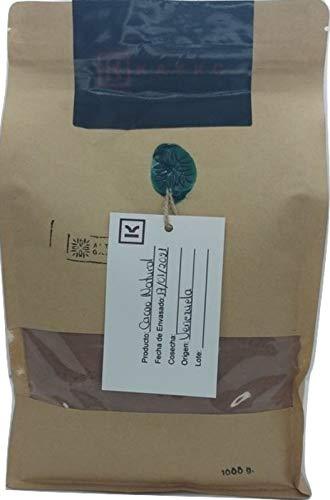 Cacao en Polvo Alcalino 10-12%. 1kg Origen Venezuela