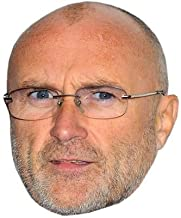 Phil Collins (2016) Masks of famous people, cardboard faces