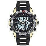 ZXMD Reloj Deportivo de Hombres Digitales Reloj Digital de cronógrafo a Prueba de Agua (4 Colores)