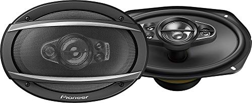Pioneer TS-A6990F 6x9' 5-way car audio speakers (Pair),blk