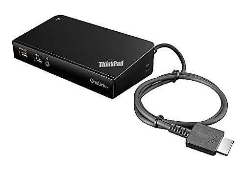 Lenovo ThinkPad OneLink Plus Dock - 40A40090US (Ultra HD Video, 4k Output, 90W AC)
