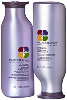 Pureology Hydrate Shampoo and Condition Set, 8.5 Ounces Each