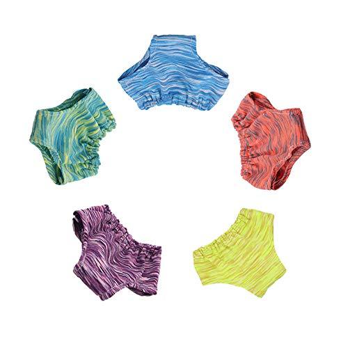 Uteruik Puppen-Unterhosen für 45,7 cm American Girl Puppe Kleidung Unterwäsche-Set, 5-teilig