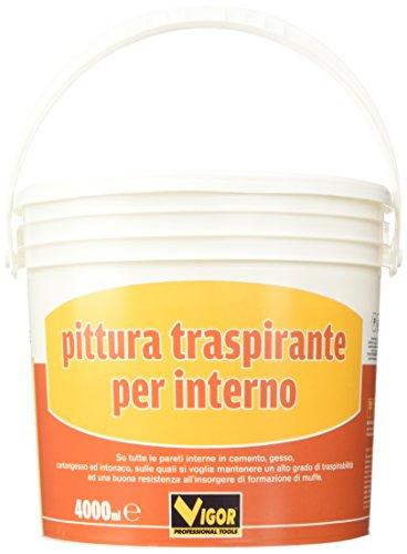 Vigor 3360404 Pittura MURALE Traspirante Bianco