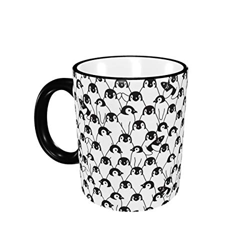 Penguin Coffee Mugs,Large Handles Cup For Home And Office Gift For Women/Men/Kids Funny Gift