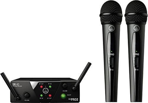 AKG Pro Audio Wireless Microphone System (MINI2VOC-US25A C)