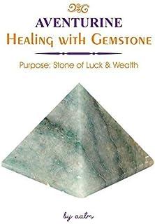 Aatm Natural Healing Gemstone Pyramid (Green Aventurine, 2-2.5 Inches)