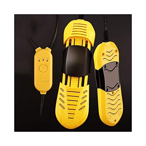 WWZL Sèche-Chaussures de Chronométrage Rétractable d hiver, Chauffage À Température Constante À 360 °, Bottes de Chaussures de Chauffag pour Hommes Femmes Enfants,Jaune,Children
