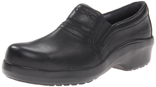 Ariat Women's Expert Static Dissipative Safety Clog Composite Toe Work Shoe, Black, 9 Wide